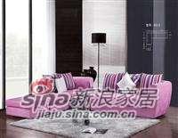 欧迪曼妮布艺沙发8512