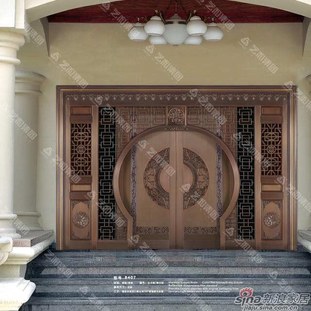 铜门8407