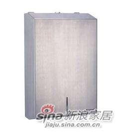 雅洁AT1503-P2(新)面巾纸箱+砂光304不锈钢-0