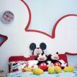 迪士尼儿童彩色家具-顽皮米奇床3
