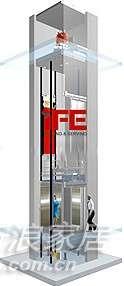 快意电梯metis系列小机房电梯