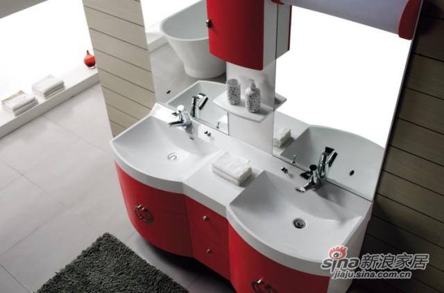 席玛洗手台盆浴室柜组合-1