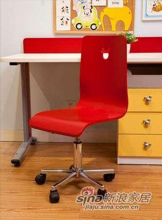 迪士尼儿童彩色家具-顽皮米奇-椅子(固定脚)-2