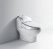 航标卫浴一体化中水箱智能座便器
