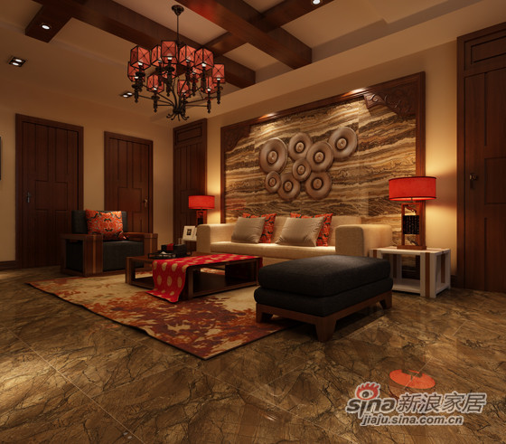 安华瓷砖雨林石-0