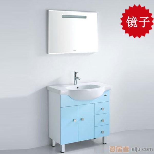 法恩莎PVC浴室柜FPG3659镜子(800*45*600mm)1