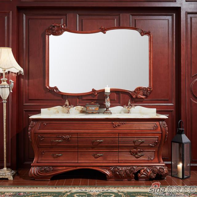 阿洛尼浴室柜-欧式仿古柜-A1811