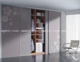 联邦高登烤漆玻璃移门衣柜――哔叽灰