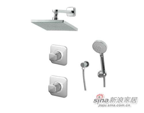 TOTO淋浴、浴缸用水龙头DB144EC+DP104+DP410+DB157ECMF-0