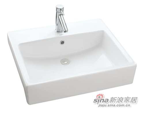 TOTO埋入式洗脸盆LW713B-0