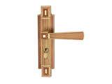 雅洁AS2051-C1713A-92中锁英文抛铜锁体+70英文抛铜锁胆