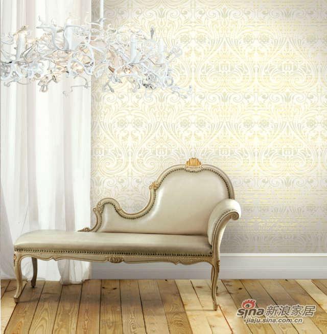 布鲁斯特壁纸 白银帝国 1B-10203-5-0