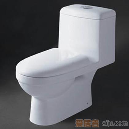 惠达-冲落式连体座便器-C8159(双档缓降盖)1