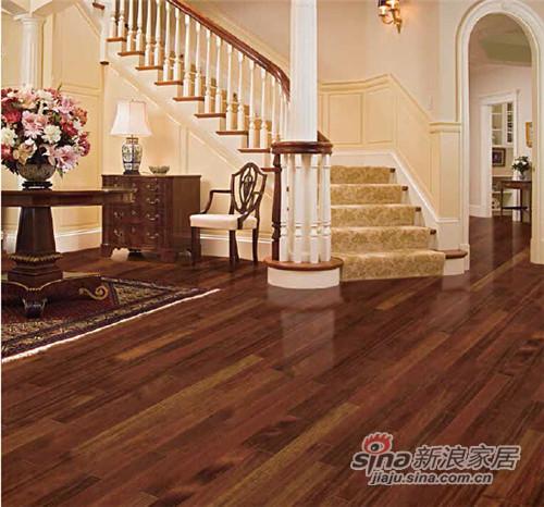 安信茚茄木实木地板