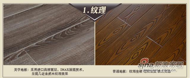 书香门地 云图001 强化地板防腐耐磨防水地暖 -2