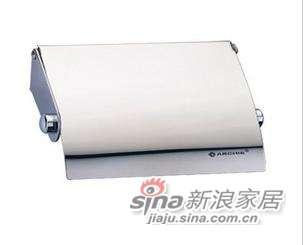 雅洁AT1701A-P1纸巾座+镜光304不锈钢-0