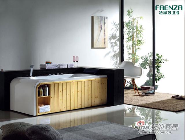 法恩莎卫浴按摩浴缸FC035Q-0