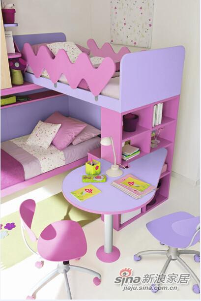 哥伦比尼儿童家具高尔夫系列双床房-6
