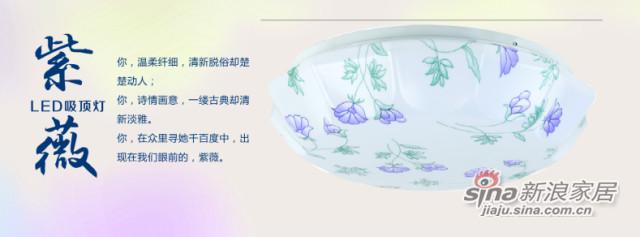 雪莱特卧室 —吸顶灯—紫薇