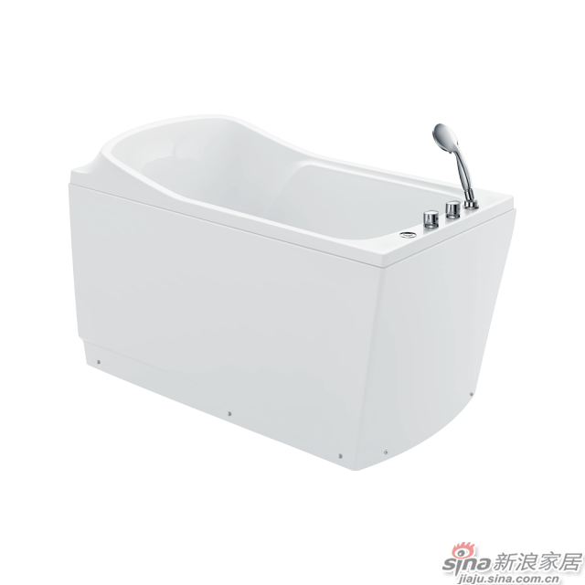 恒洁卫浴浴缸HLB607SRS1-130