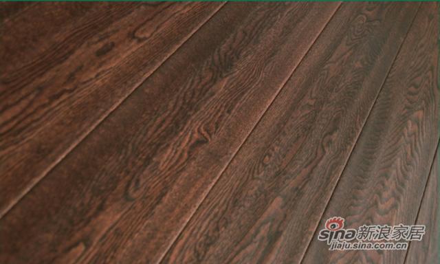 金桥地板三层实木复合地板无醛环保橡木地板锁扣烟雨江南-1