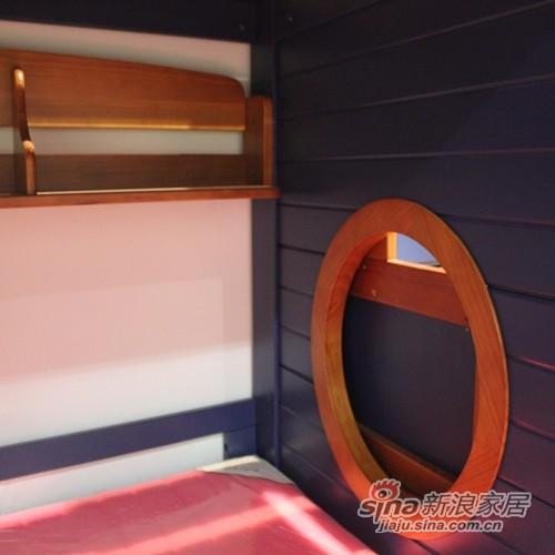 优山美地喜鹊-1.35米海盗双层床-3