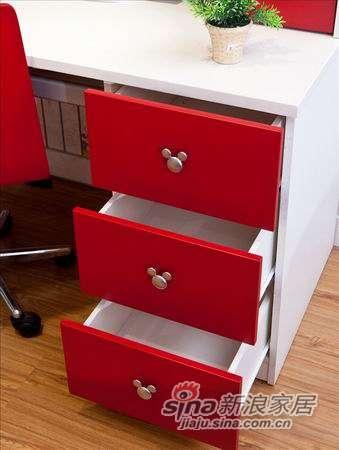 迪士尼儿童彩色家具-经典米奇书桌-1