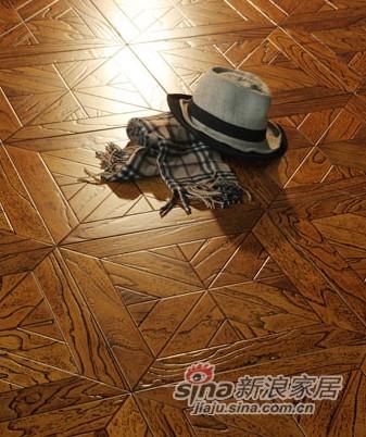 宏鹏地板艺术拼花系列—维多利亚风PH158