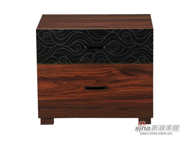 华源轩HT-R825B床头柜-0