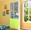 迪士尼彩色板式系列二门书柜