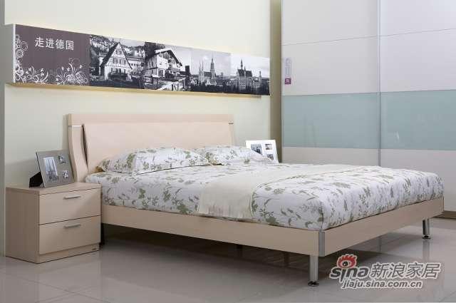 东方百盛-B692双人床-0