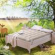 水星家纺 抗菌防螨驼毛加厚床垫