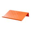 橙色笔记本电脑支架