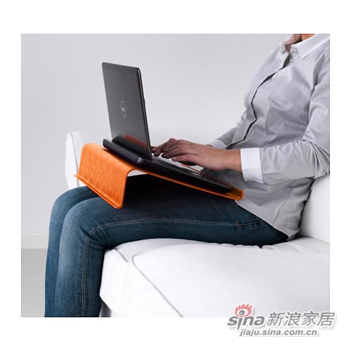 橙色笔记本电脑支架-1