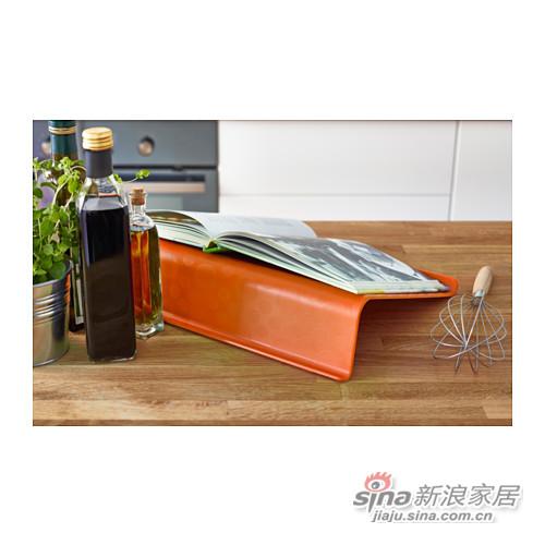 橙色笔记本电脑支架-2