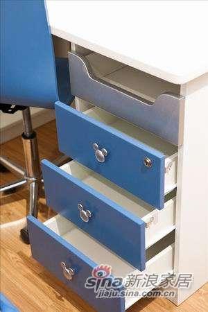 迪士尼儿童彩色家具-美式米奇书桌-2