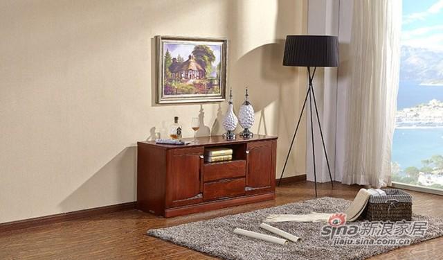 天坛新东方系列卧室实木电视柜-0