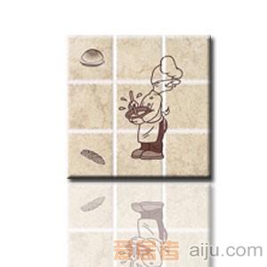 红蜘蛛瓷砖-复古砖系列-墙砖(花片)RW36013T1-4(300*300MM)