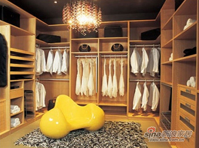KD黄橡衣帽间-0