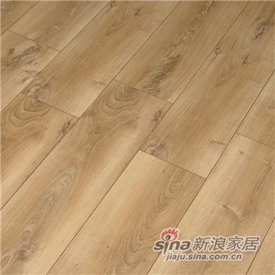 德合家ROOMS 强化地板RV803浅棕橡木-1