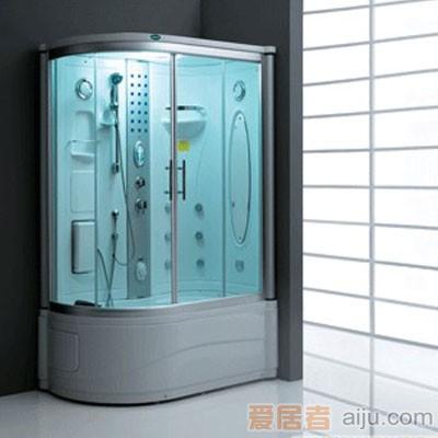 法恩莎电脑蒸汽淋浴房FV002Q(1510*905*2200mm)带冲浪1