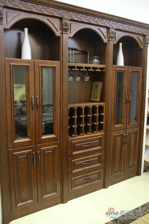 三果实木法式柜-0