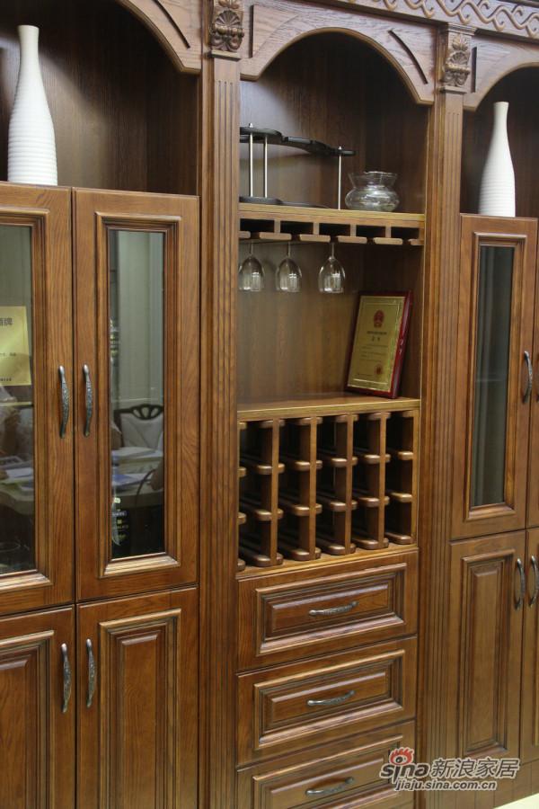 三果实木法式柜-2