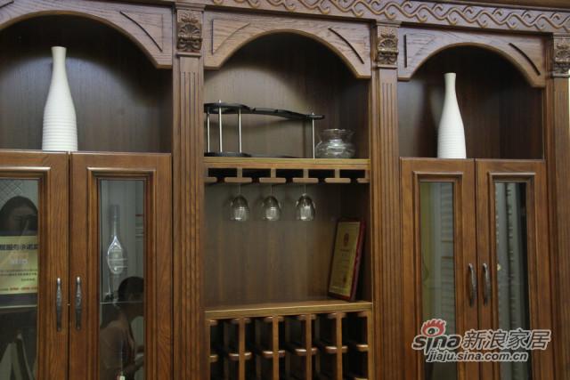 三果实木法式柜-3