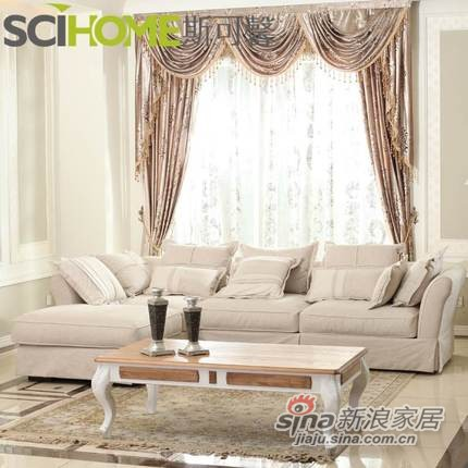 斯可馨 布艺沙发 组合沙发客厅转角沙发现代简约中小户型特价006-1