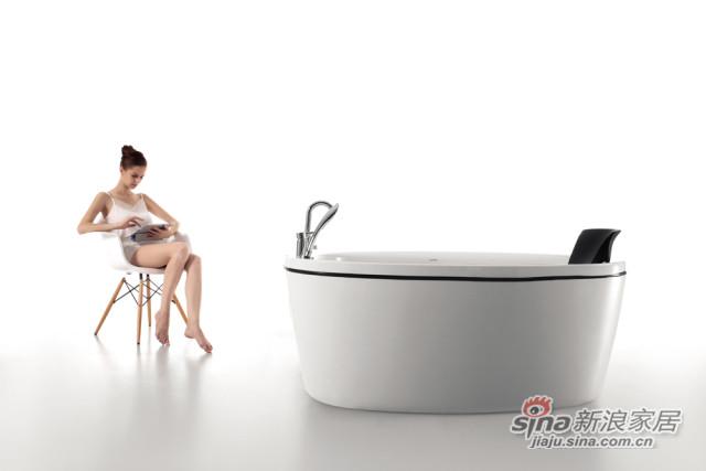安华卫浴安大略系列浴缸anW037Q-1