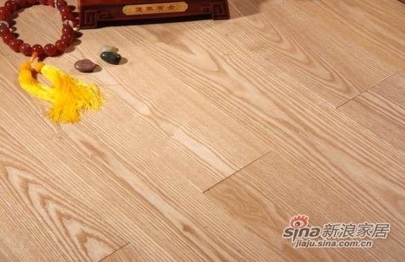 圣达地板本真实木系列—白蜡木水晶面