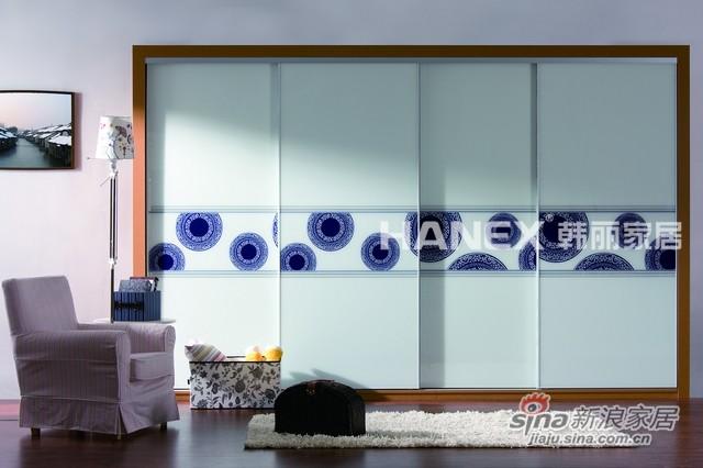 韩丽衣柜艺术系列-青花瓷-0