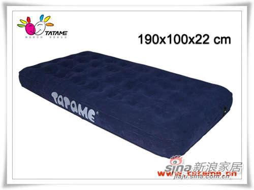 TATAME充气床系列 单人五面植绒充气床 QP01002-0