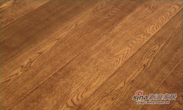 金桥地板三层实木复合地板无醛环保橡木地板锁扣追梦少年-1